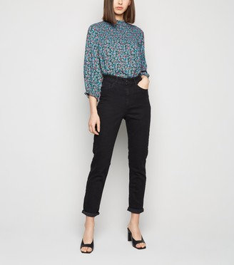 New Look Washed Waist Enhance Slim Tori Mom Jeans