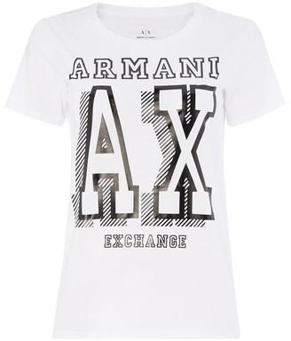 Armani Exchange Varsity T-Shirt