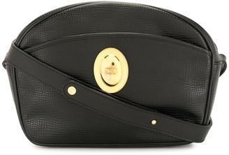 Christian Dior Pre-Owned Logo Plaque Crossbody Bag