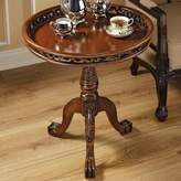 Toscano Lady Wentworth Pie Crust End Table Design