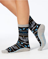 Hot Sox Women's Menorah Non-Skid Socks