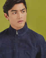 GREGG Suede Harrington jacket
