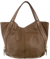 Givenchy Leather Tinhan Shopper Tote