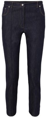 Rokh Cropped High-rise Straight-leg Jeans
