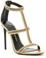 Tom Ford Zip Cage Sandals