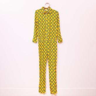 Genesis - Yellow Mono Chains Jumpsuit - m | yellow - Yellow/Yellow