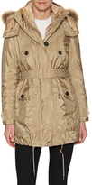 Burberry Fur Trimmed Parka with Detachable Down-Filled Jacket