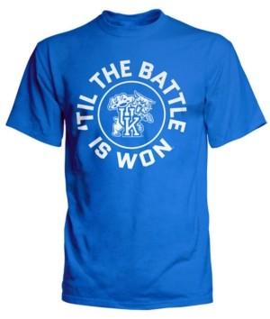 J America Top of the World Men's Kentucky Wildcats Fight Song T-Shirt