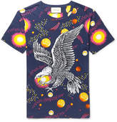 Gucci Space Eagle Printed Cotton-Jersey T-Shirt