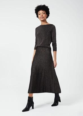 Hobbs Ira Knitted Skirt
