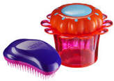 Tangle Teezer Mum and Daughter Original and Magic Flowerpot Pink/Purple Duo