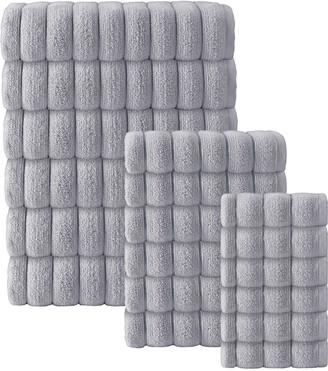 Enchante Home Set Of 18 Vague Turkish Cotton Towel Set