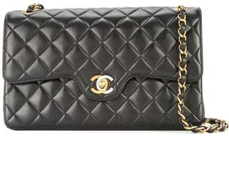 Chanel Pre-Owned 1994-1996 quilted double flap chain shoulder bag