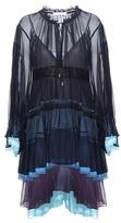Chloé Silk Tiered Dress