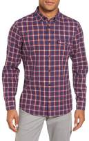 Nordstrom Trim Fit Duofold Check Sport Shirt