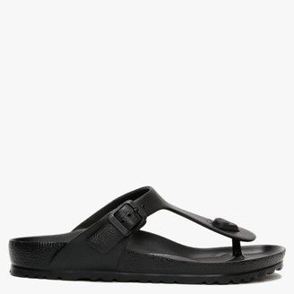 Birkenstock Gizeh EVA Black Toe Post Sandals