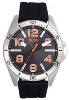BOSS ORANGE Men's 'Big Time' Silicone Strap Watch, 48Mm