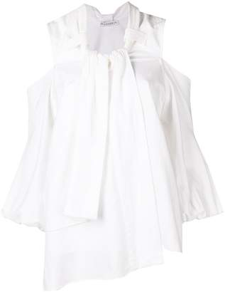 J.W.Anderson cropped puff sleeve blouse