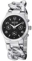 SO & CO NY Womens Soho Stainless Steel Chain Bracelet Casual Quartz Watch J151P21