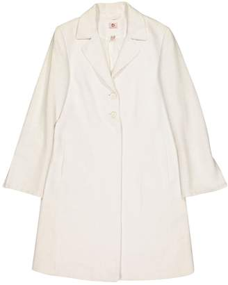 Dacute Ecru Cotton Jackets