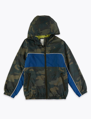Marks and Spencer Stormwear Camouflage Windbreaker (6-16 Yrs)