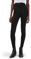 Topshop Women's Joni Released Hem Skinny Jeans