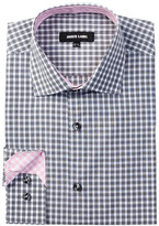 Jared Lang Long Sleeve Check Dress Shirt