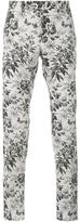 Gucci tailored floral print trousers - men - Cotton/Rayon - 54