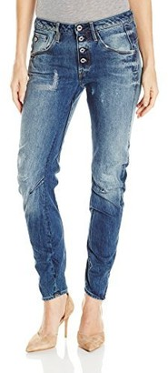 G Star New Arc 3D Btn Low Boyfriend Women Jeans