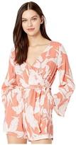 Roxy New Morning Air (Terra Cotta Flying Flowers) Women's Clothing