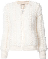 Ulla Johnson knitted zip jacket