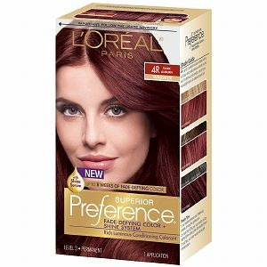 L'Oreal Superior Preference Fade Defying Color & Shine System, Permanent, Light Golden Blonde 9G