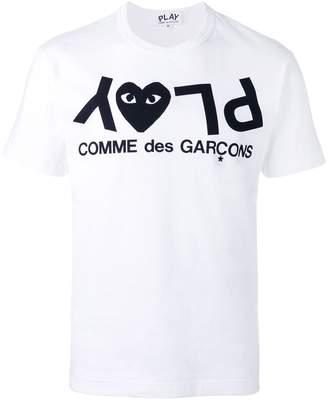 Comme des Garcons Play logo print T-shirt