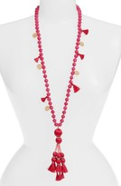 Kate Spade Women's Tassel Pendant Necklace