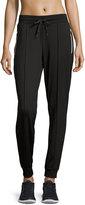 Marc NY Performance Zipper-Pocket Jogger Pants, Black