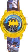 DC COMICS Batman Boys Multicolor Strap Watch-Bat4620jc