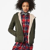 Uniqlo Women Faux Shearling Quilted Parka