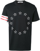 Givenchy star embroidered T-shirt - men - Cotton - M