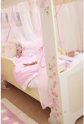 Hello Home Rose Four Poster Toddler Bed