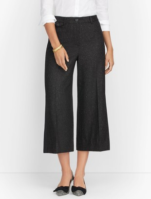 Talbots Stretch Flannel Culottes - Donegal