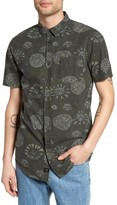 Globe Men's Maize Print Woven Shirt