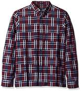 French Connection Men's Ikat Check