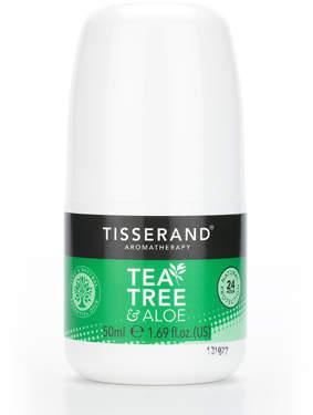 Tisserand Aromatherapy U.K. Aromatherapy Tea Tree & Aloe Deodorant 50ml