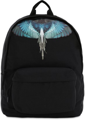 Marcelo Burlon County of Milan Printed Wings Nylon Backpack
