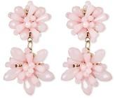 SUGARFIX by BaubleBar Cluster Drop Earrings - Pink