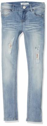 Name It Girl's Nkfpolly Dnmtilda 2163 Pant Noos Jeans
