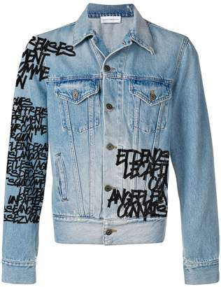 Faith Connexion customisable denim jacket