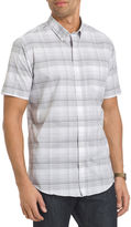 Van Heusen Short-Sleeve Luxe Touch Easy Care Woven Shirt