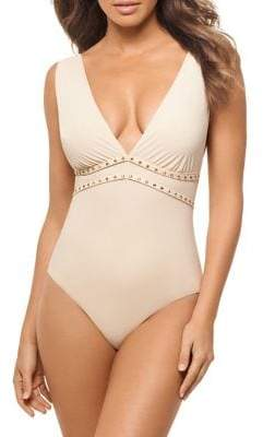 Miraclesuit Amoressa By Romancing The Stone Lupita 1-Piece Swimsuit
