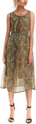 AERIN Silk-Blend Dress